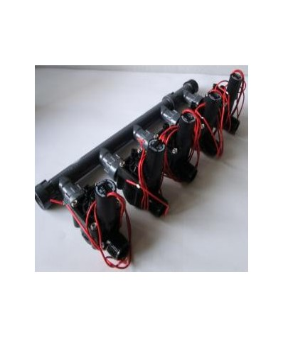 Kit preinstallato a 5 elettrovalvole 24V HUNTER