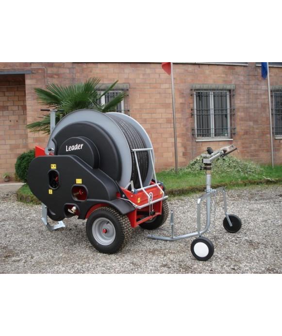Macchina irrigatrice semovente mod. LEADER-32 con TURBINA IN ALLUMINIO d.32mm x 120 mt