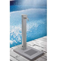 Rectangular inox steel fountain
