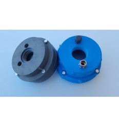 Well heads in PVC d. 140 mm - hole 2""