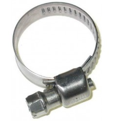 Hose clamp Zinc-plated d.12/22 - 10 pcs