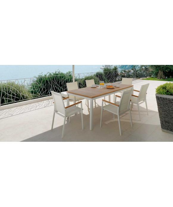 Tavolo da giardino Talenti mod. Timber allunganile