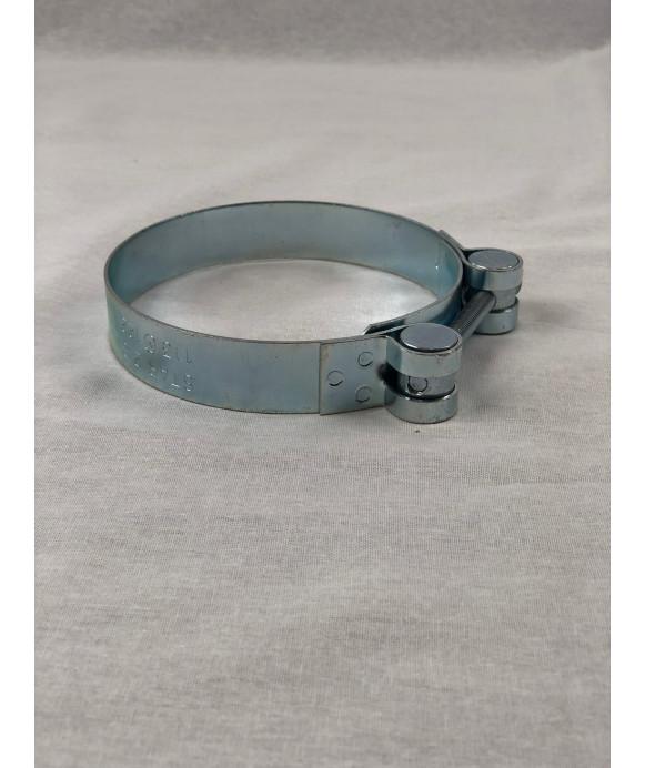 Fascetta stringitubo zincata EXTRA Piccola - d. 105-110 mm