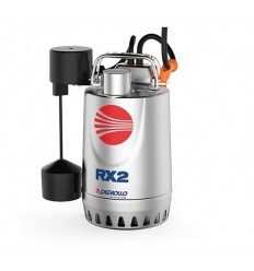 Submersible drainage pump in stainless steel with magnetic float PEDROLLO mod. RXm3-GM