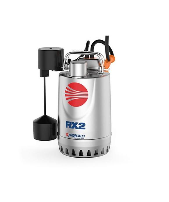 Elettropompa Sommergibile da Drenaggio in Acciaio Inox con galleggiante magnetico PEDROLLO mod. RXm3-GM