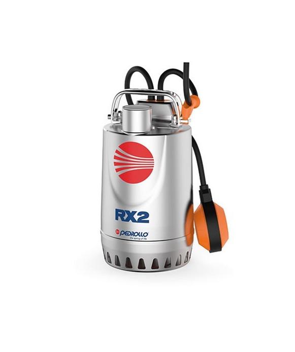 Elettropompa Sommergibile da Drenaggio in Acciaio Inox PEDROLLO mod. RX5