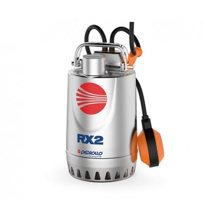 Submersible drainage pump in stainless steel PEDROLLO mod. RX5