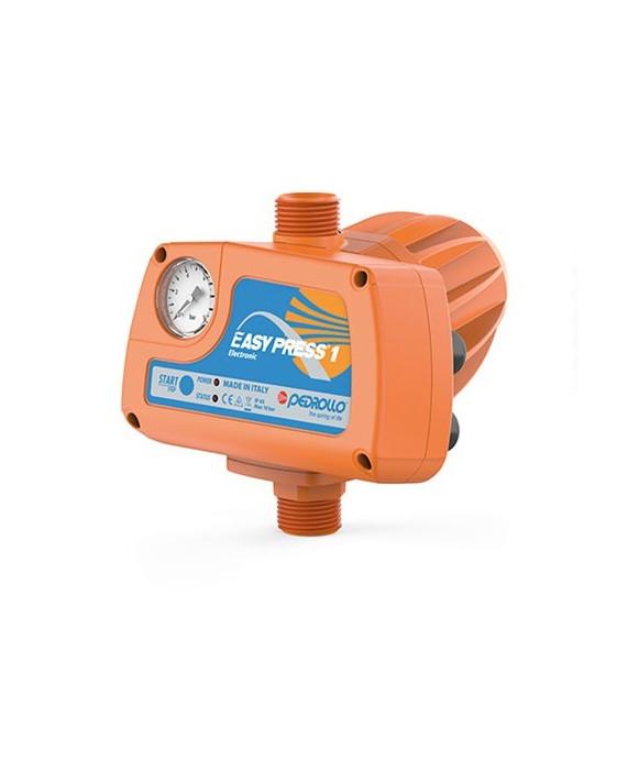 Regolatore elettronico di pressione con manometro PEDROLLO mod. EASYPRESS-2M