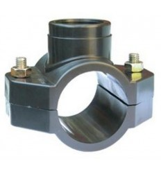 """Clamp saddle 25x3/4"""" - PN10 for PE pipe"""