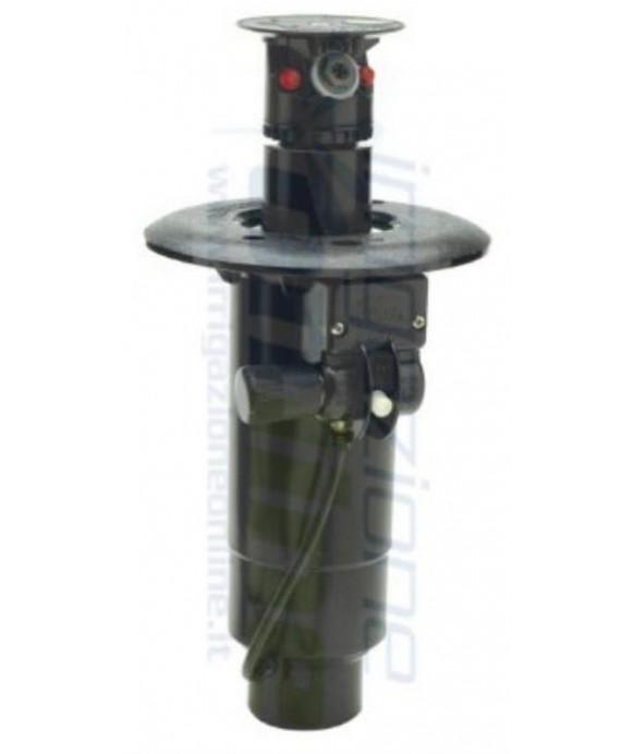 TORO - SERIE DT50, mod. DT-55-52-57 con comando di apertura idraulico, angolo di lavoro 360° (pieno cerchio)