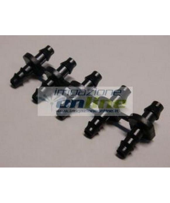 Juncture IRRITEC for Micro Dripline d.4 mm - 5 pcs