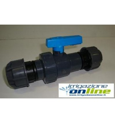 Manifold 1 way with tap and fittings