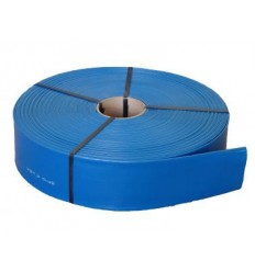 "Tubo in PVC Lay Flat d. 3"" - 4 bar - Bobina da 50 m"