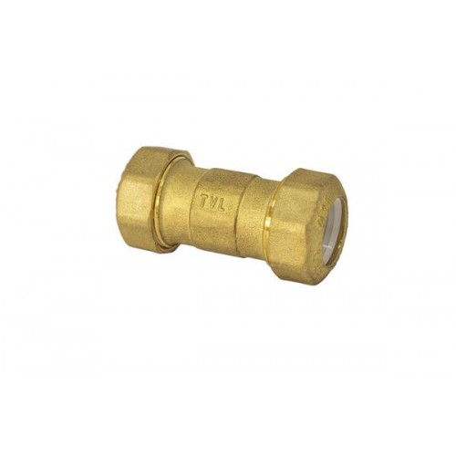 Brass fittings for polyethylene pipe