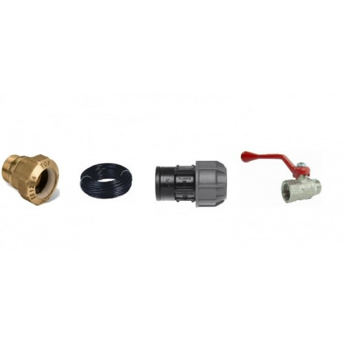 PIPE, FITTINGS AND VALVES